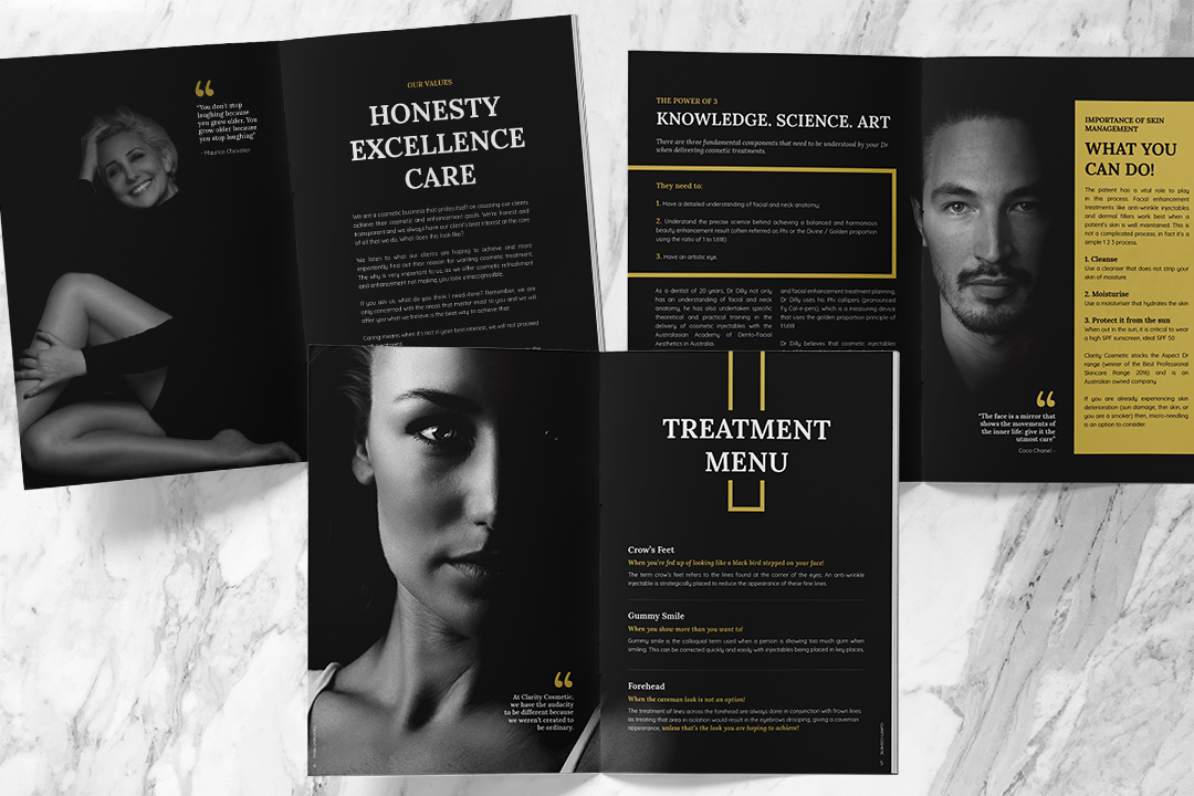 booklet_design_clarityCosmetic